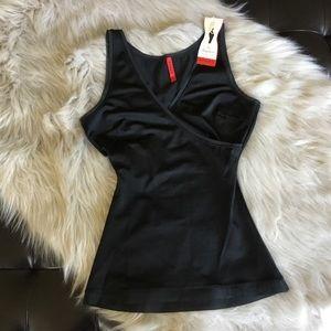Spanx Wrap Camisole Shaper Black Size Small NWT